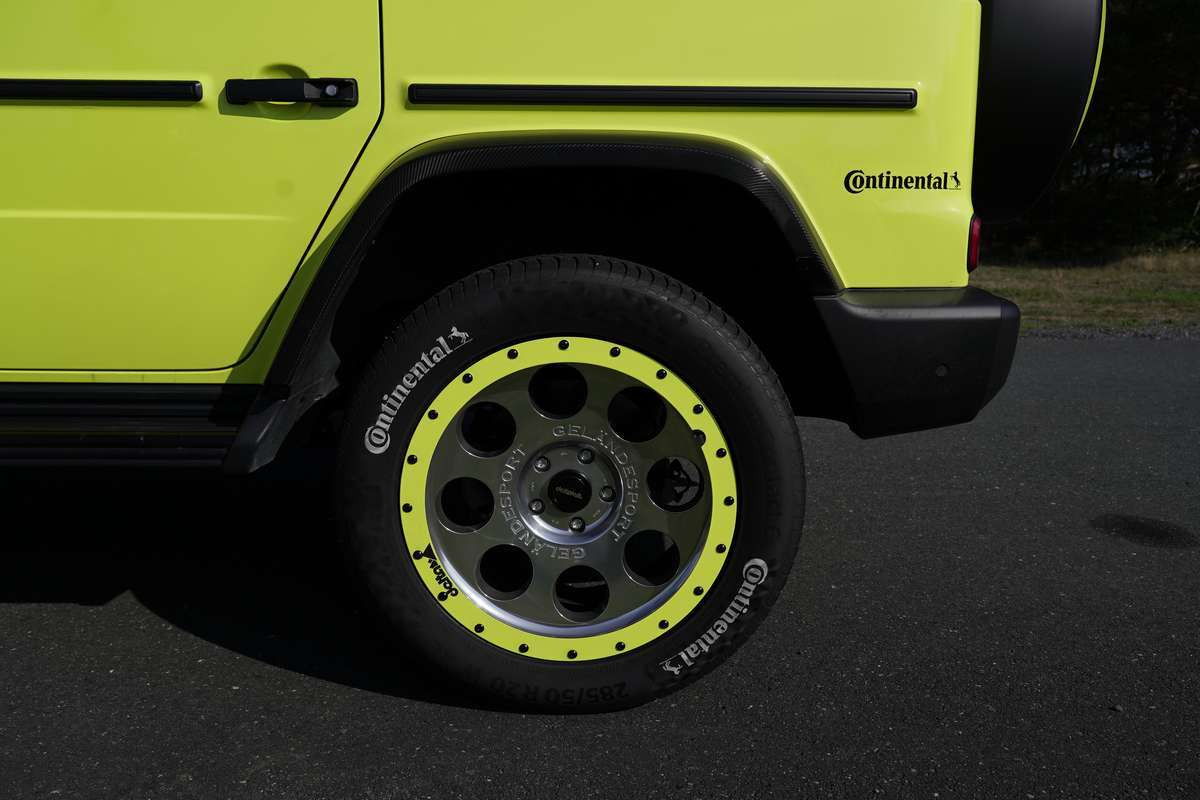 Mercedes G-Class Continental tyres by delta4x4 Offroad Tuning