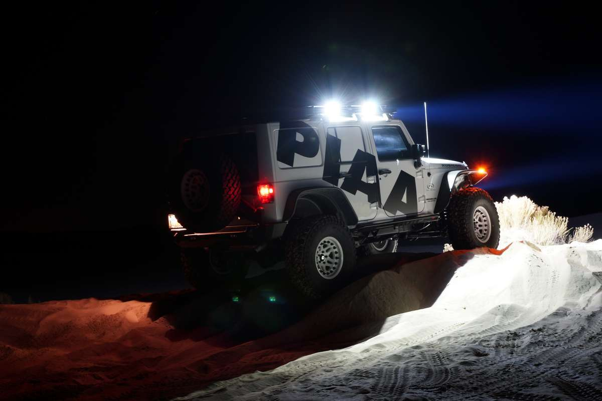 PIAA Lights for Ford Ranger by delta4x4 Offroad Tuning