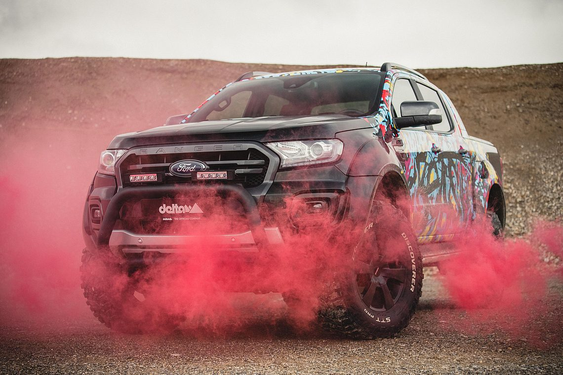 Offroad Tuning Ford Ranger Beast - delta4x4